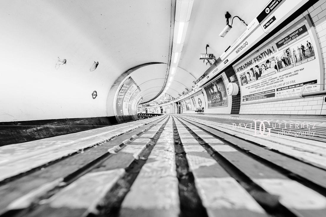 Waterloo London Underground UK