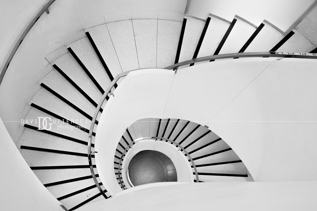 Tate britain staircase london uk