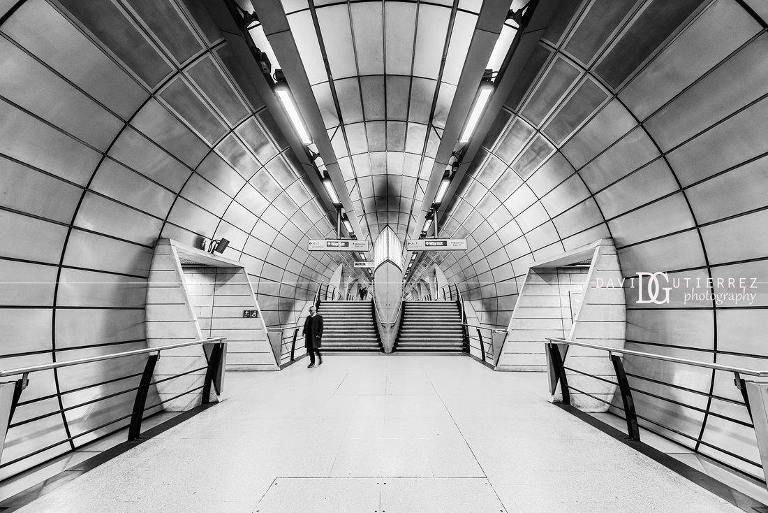 Black and white architectural photography by david gutierrez london