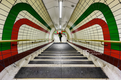 London Photographer - Piccadilly Circus Underground Station, London, UK