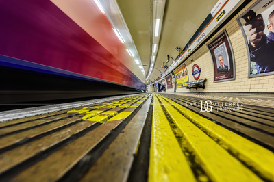 London Photographer - Waterloo Underground Station, London, UK